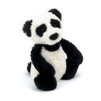 Panda plysj 18 cm