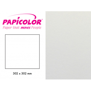 Papicolor 302x302mm – 330 Metallic Perlehvit