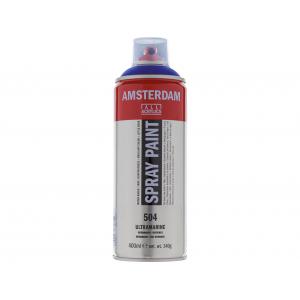 Amsterdam Spray 400ml – 504 Ultramarine