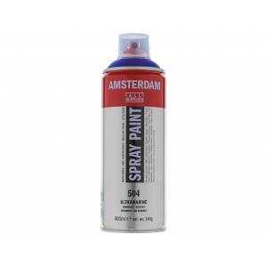 Amsterdam Spray 400ml – 504 Ultramarine