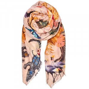 Luxe Kingdom Scarf Rose