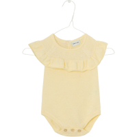 MINI A TURE - MISCHA ROMPER YELLOW ANISE FLOWER