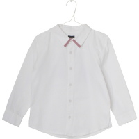 MINI A TURE - MEXI SHIRT WHITE