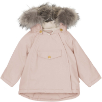 MINI A TURE - WANG FUR VINTERJAKKE ROSE SMOKE