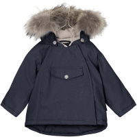 MINI A TURE - WANG FUR VINTERJAKKE SKY CAPTAIN BLUE