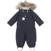 MINI A TURE - WISTI FUR VINTERDRESS SKY CAPTAIN BLUE