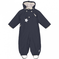 MINI A TURE - WISTI VINTERDRESS SKY CAPTAIN BLUE