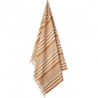 LIEWOOD - MONROE BEACH TOWEL Y/D STRIPE MUSTARD/CREME