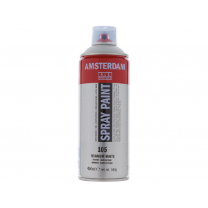 Amsterdam Spray 400ml – 105 Titanium white