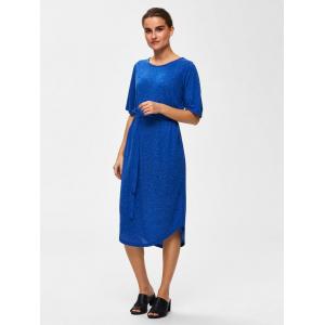 Ivy kjole blå