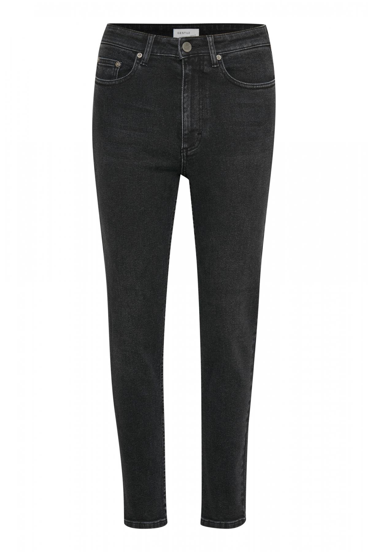 Gestuz Black Astrid Mom Jeans