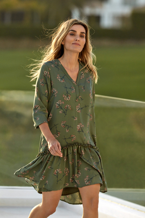 Slow Dress Army Flower