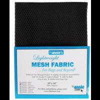 Black Mesh Lite Weight 18in x 54in