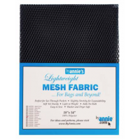 Navy Lightweight Mesh Fabric  18x54in