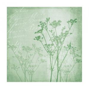 Napkin 33 Floral Harmony Green