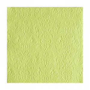 SERVIETTER ELEGANCE LUNSJ LIGHT GREEN