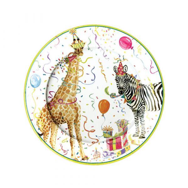Desserttallerken Party animals