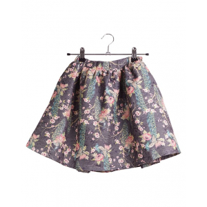 KRUTTER - DAGMAR SKIRT METALLIC FLOWERS