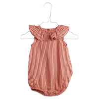 KRUTTER - CLOWNSUIT APRICOT STRIPES