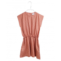 KRUTTER - ELVA DRESS APRICOT STRIPES