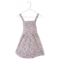 KRUTTER - LEA DRESS BORDEAUX FLOWER
