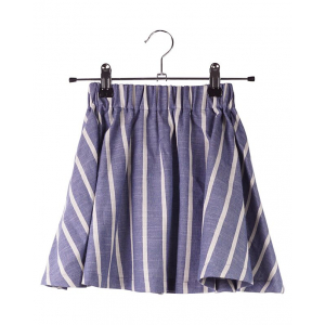 KRUTTER - EMMA SKIRT BLUE STRIPE