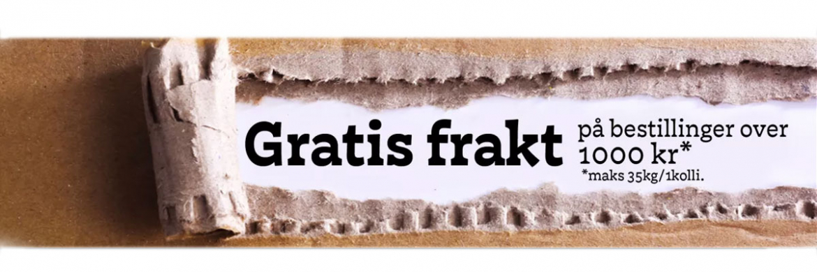 Gratis frakt over 1000kr hos Homebrew.no