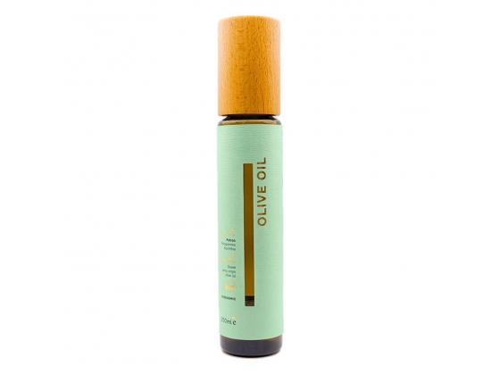 Kaldpresset olivenolje grønn