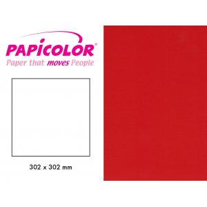 PAPICOLOR 302X302MM - 918 - RØD