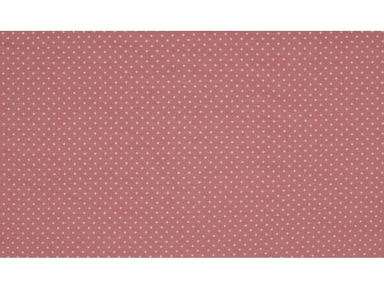 Jersy rosa med små hvite prikker