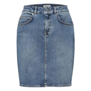 Kenna hw mid denim Skirt