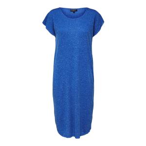 Ivy kjole kort blå