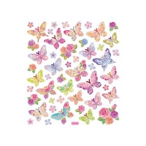 Klistremerker – Sommerfugler pastell