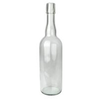 Flaske med Patentkork - Blank - 0,75 liter