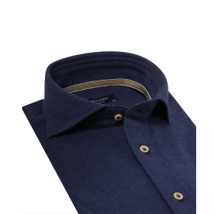 Navy knitted short selve shirt