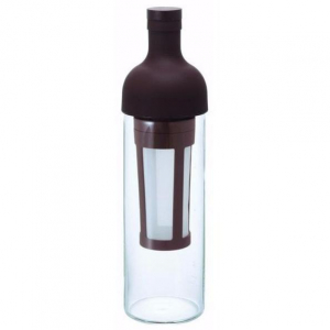 Hario Cold Brewed coffee - filter in bottle