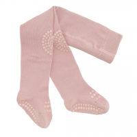 GOBABYGO - CRAWLING TIGHTS DUSTY ROSE