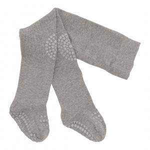 GOBABYGO - CRAWLING TIGHTS GREY MELANGE
