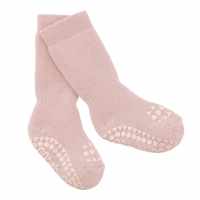 GOBABYGO - NON-SLIP SOCKS DUSTY ROSE