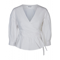 Cocouture Wrap Poplin Shirt