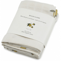 KONGES SLØJD - MUSLIN CLOTHS LEMON 3-PK