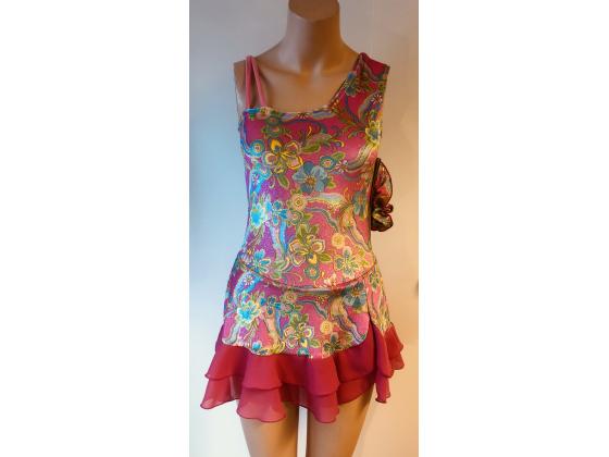 Tahitian Twirl Dress