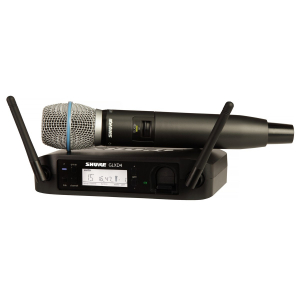 Shure GLXD4RE vokal system med Beta87A