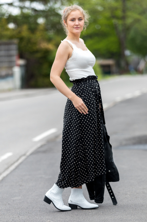 Cazur Skirt Black
