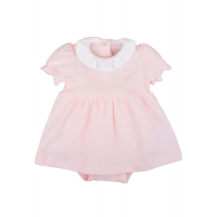 LIVLY - POINTELLE BABY COLLAR DRESS
