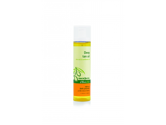 Deep tan oil SPF 0