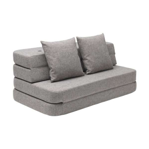 BY KLIPKLAP - MULTIMØBEL KK 3 FOLD SOFA (MULTIGRÅ/GRÅ)