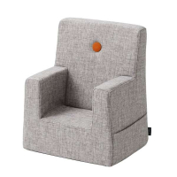 BY KLIPKLAP - KK KIDS CHAIR (MULTIGRÅ/ORANSJE)