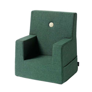 BY KLIPKLAP - KK KIDS CHAIR (MØRK GRØNN/LYS GRØNN)
