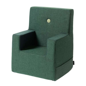 BY KLIPKLAP - KK KIDS CHAIR XL (MØRK GRØNN/LYS GRØNN)